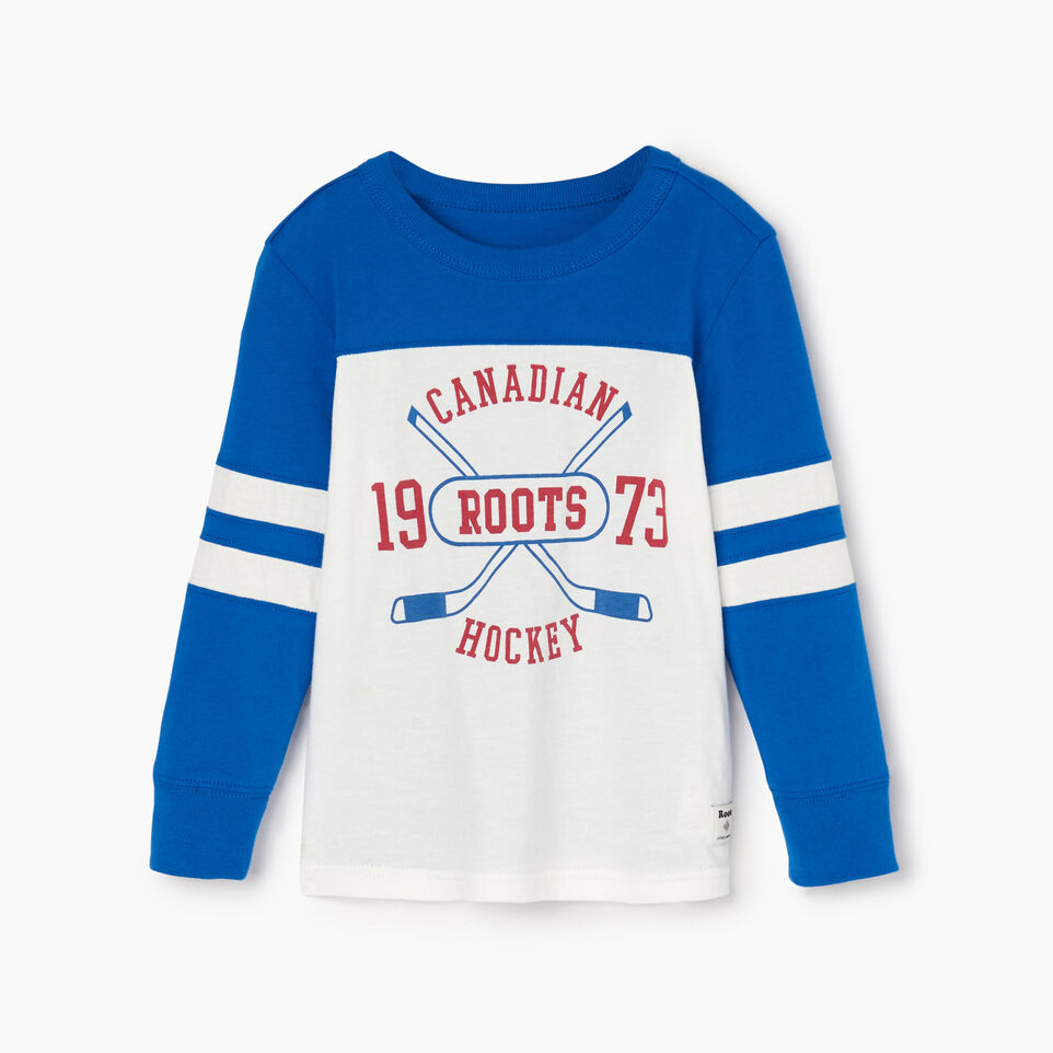 Roots-undefined-Toddler Hockey Team T-shirt-undefined-A