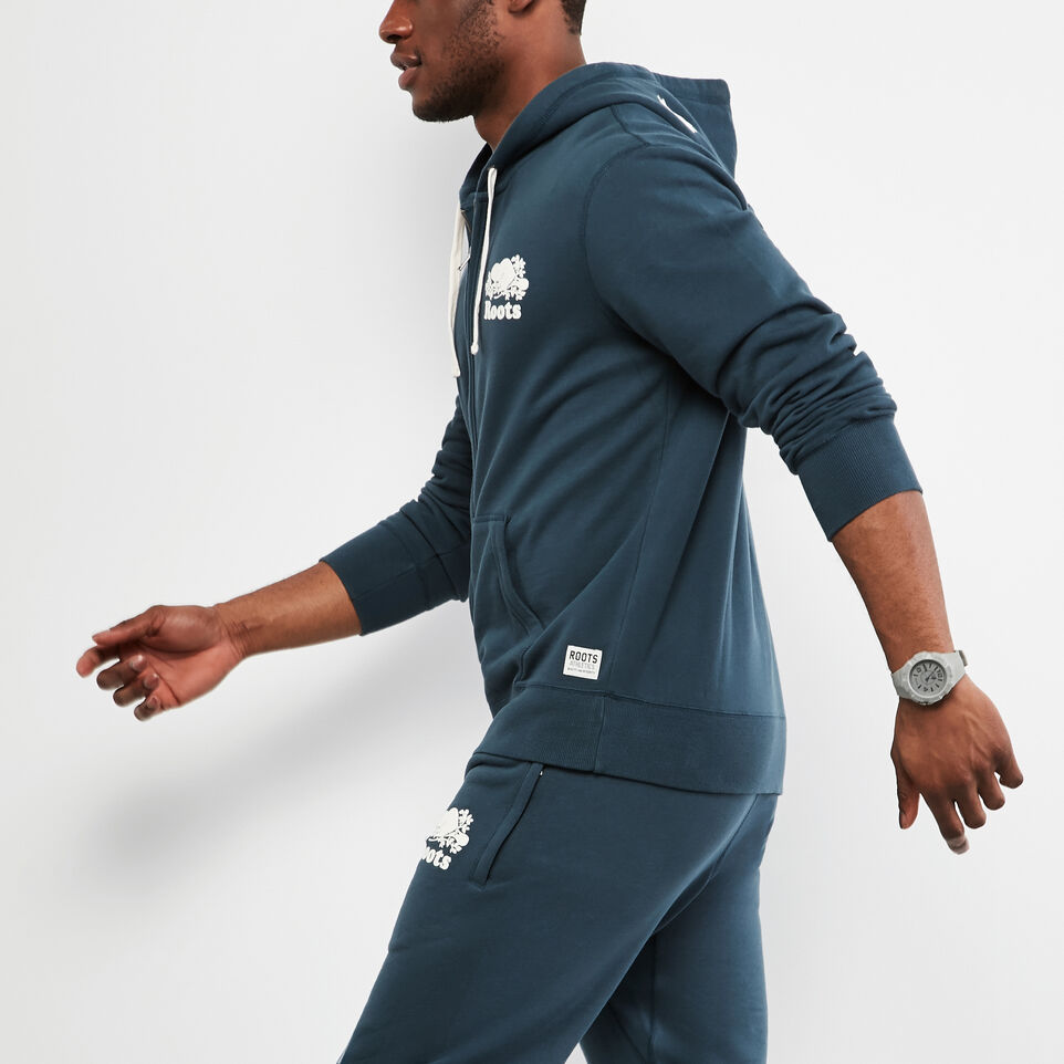 Roots-undefined-Original Terry Zip Hoody-undefined-B
