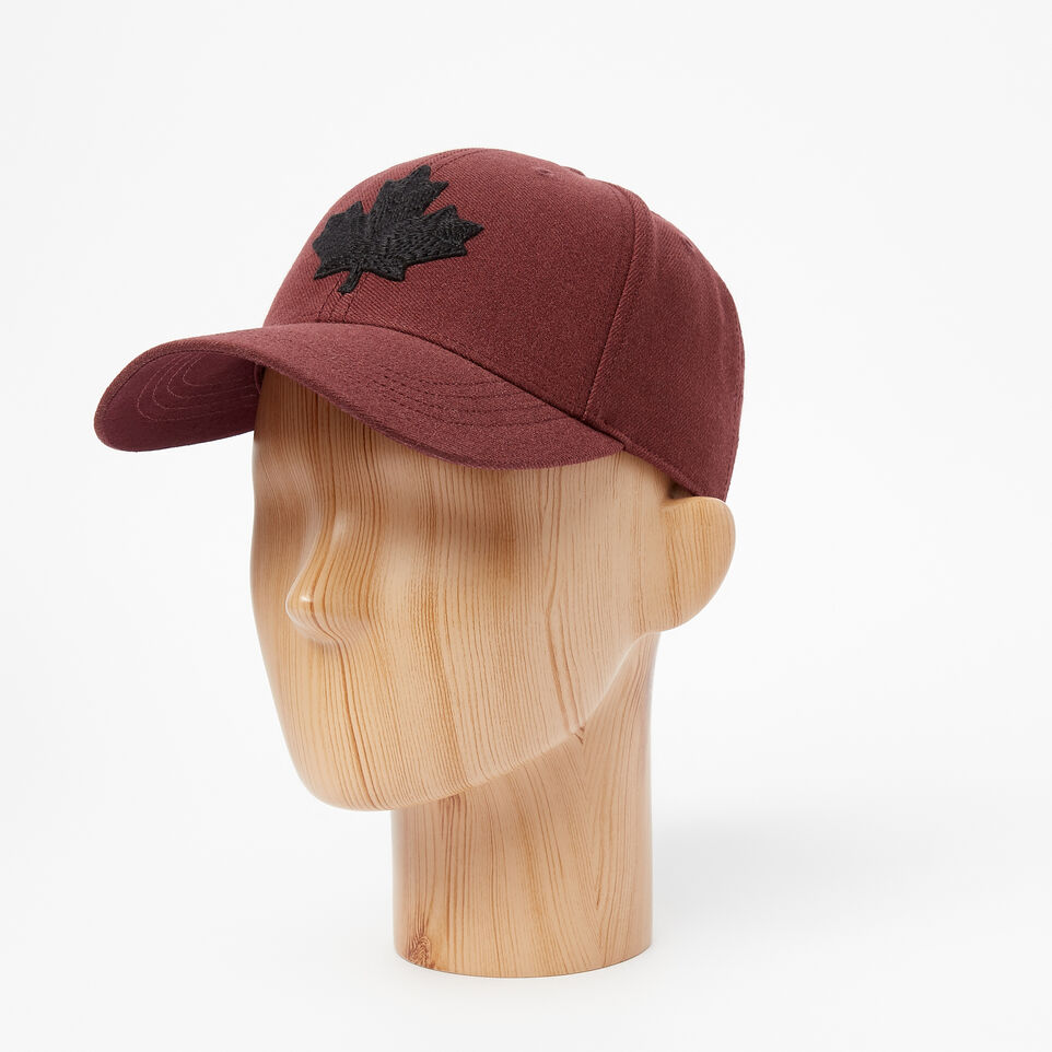 Roots-undefined-Mens Modern Leaf Baseball Cap-undefined-B