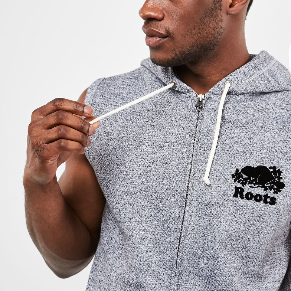 Roots-undefined-Sleeveless Zip Hoody-undefined-C