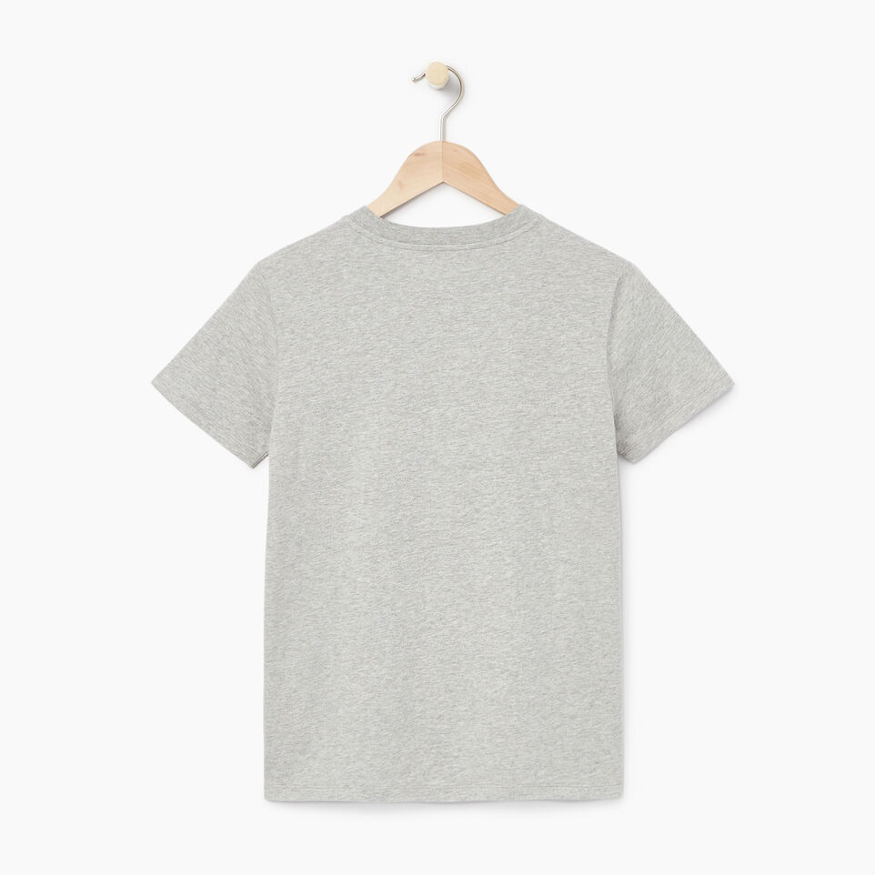 Roots-New For July Daily Offer-Womens Cooper Beaver Stripe T-shirt-Grey Mix-B