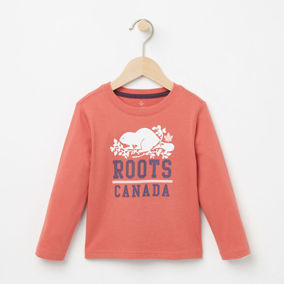 Roots-undefined-Toddler Raina T-shirt-undefined-A