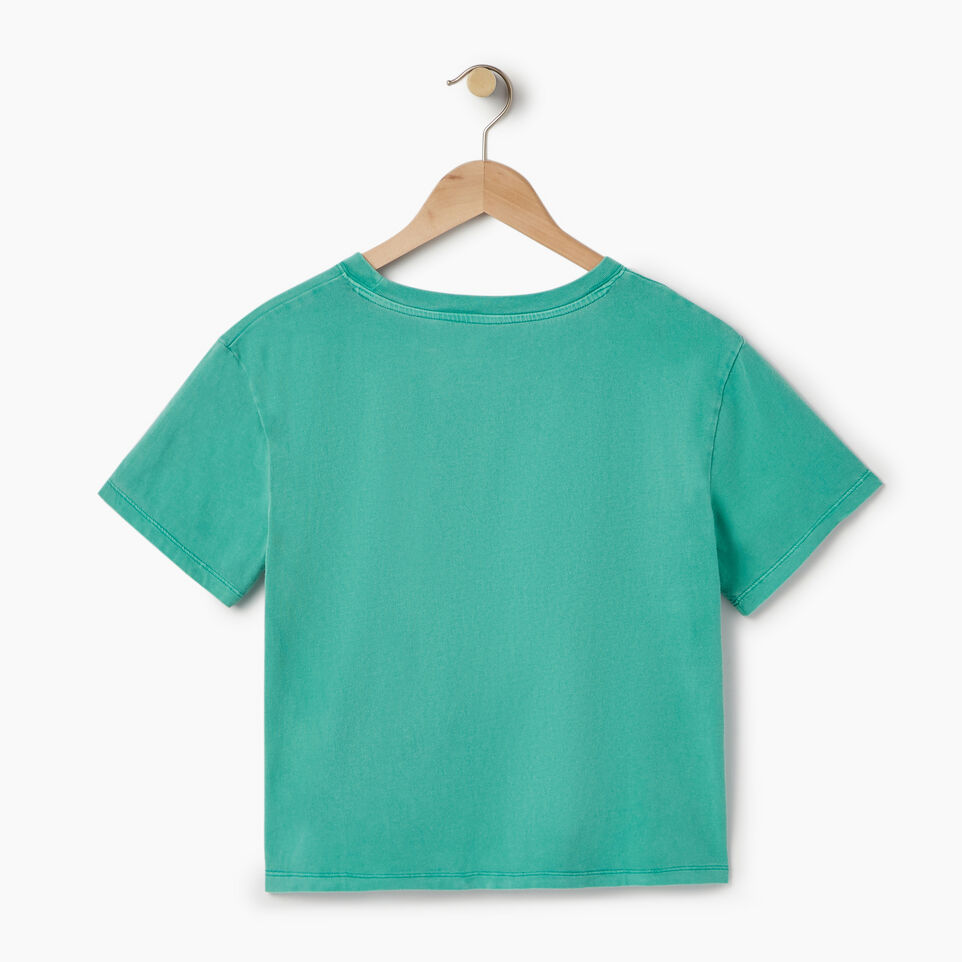 Roots-Women Our Favourite New Arrivals-Womens Sunkissed T-shirt-Sea Green-B