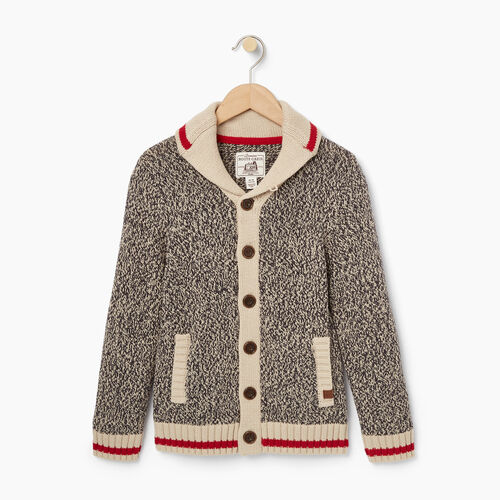 Roots-Kids Categories-Boys Cabin Cardigan-Grey Oat Mix-A