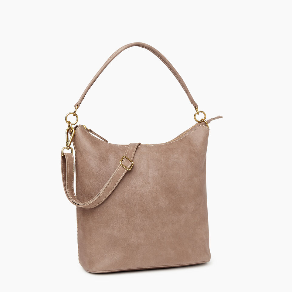 Roots-Leather  Handcrafted By Us Our Favourite New Arrivals-Ella Bag-Fawn-A
