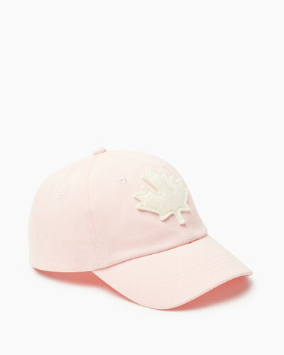 Roots-Kids Canada Collection-Kids Canada Baseball Cap-Pink-A