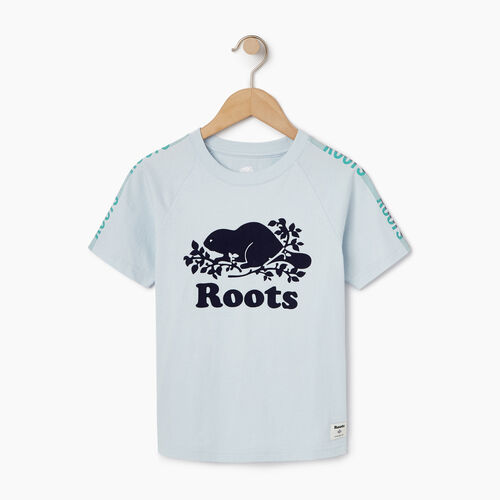 Roots-Kids Our Favourite New Arrivals-Boys Speedy Frank T-shirt-Baby Blue-A