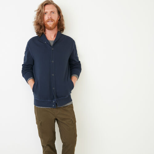 Roots-Clearance Men-Almonte Cardigan-Navy Blazer-A