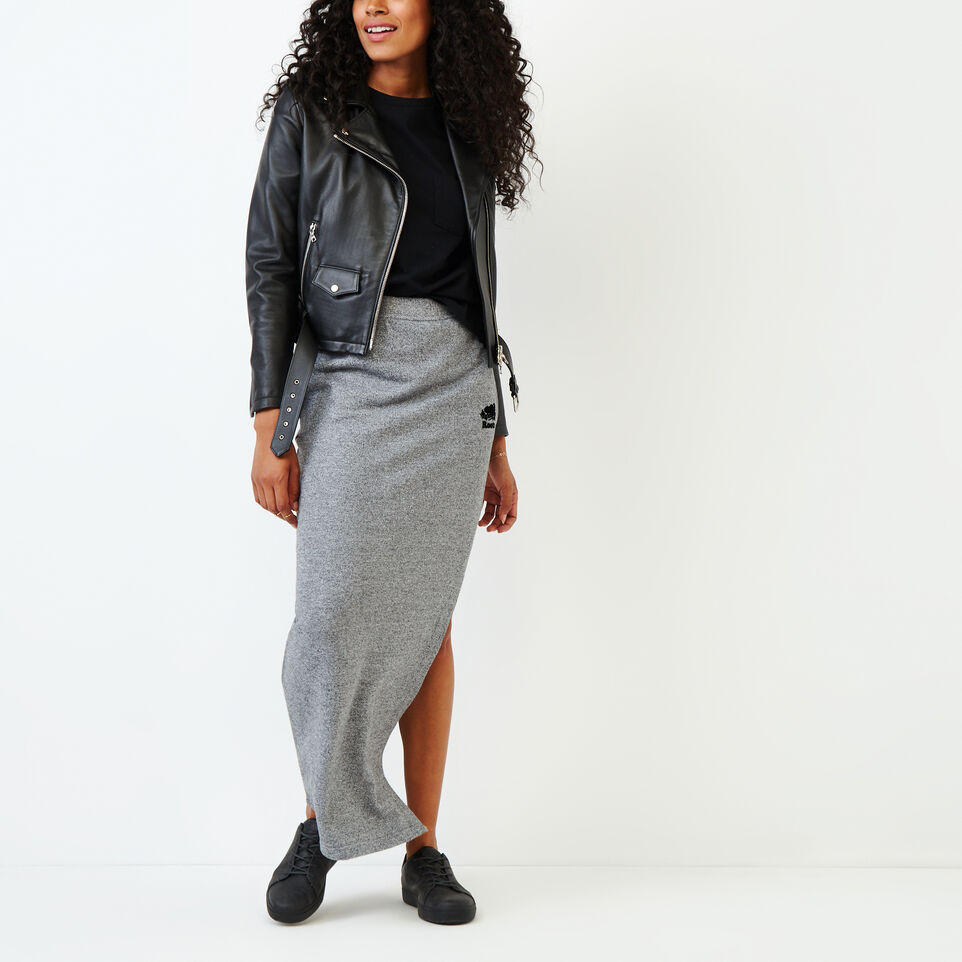 Roots-undefined-Roots Salt and Pepper High Waist Skirt-undefined-B
