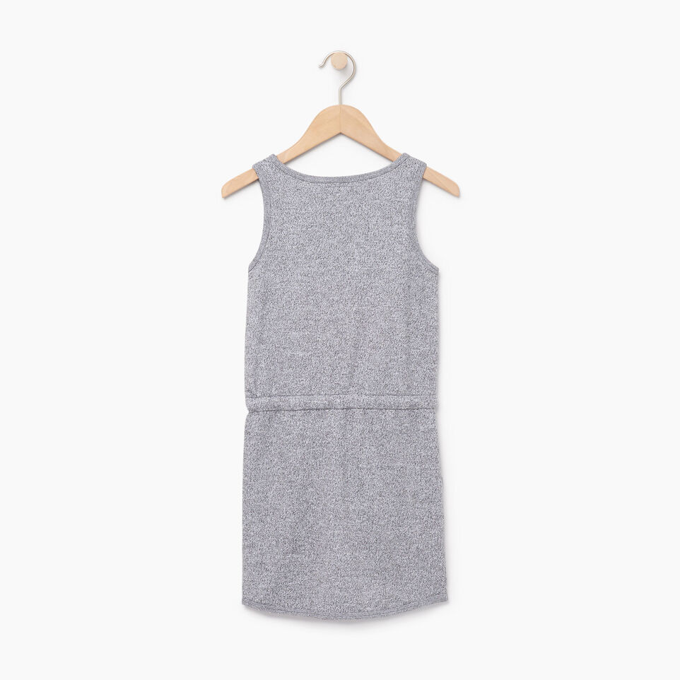 Roots-Kids Our Favourite New Arrivals-Girls Cooper Beaver Tank Dress-Salt & Pepper-B