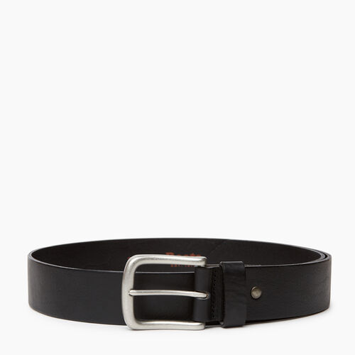 Roots-Men Our Favourite New Arrivals-Roots Mens Leather Jean Belt-Black-A