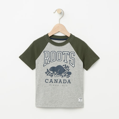 Roots-Kids Toddler Boys-Toddler Glow In The Dark Raglan Top-Grey Mix-A
