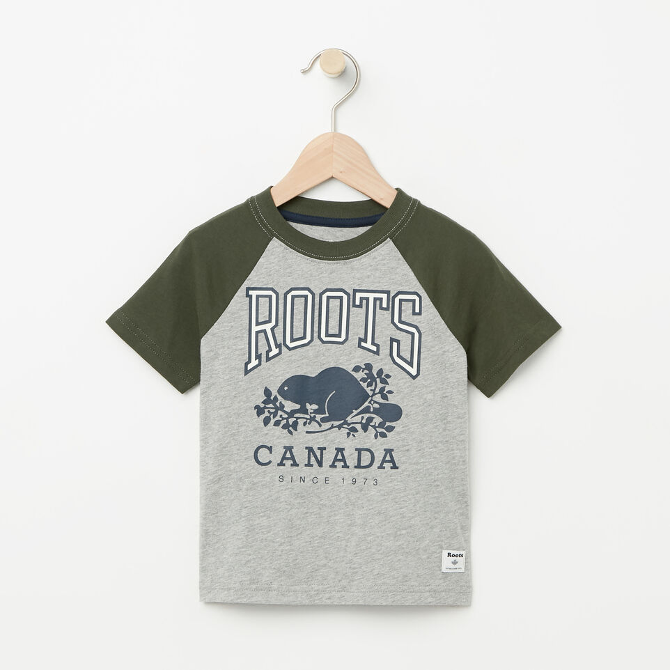 Roots-undefined-Toddler Glow In The Dark Raglan Top-undefined-A