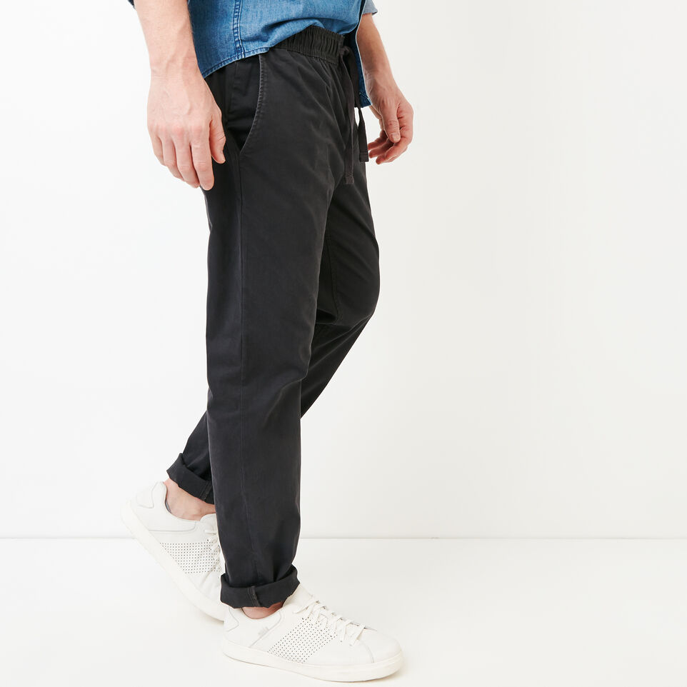 Roots-Men Our Favourite New Arrivals-Essential Pant-Charcoal-C