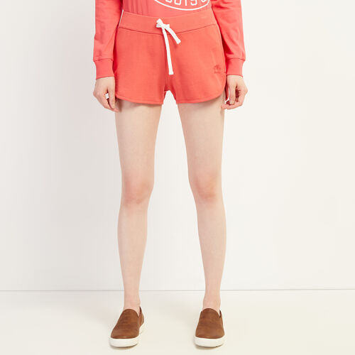 Roots-Women Clothing-Kawartha Running Short-Raspberry-A