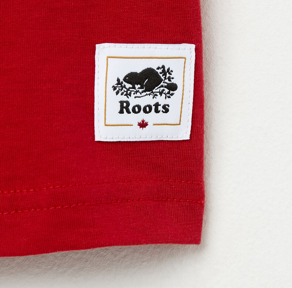 Roots-undefined-Baby Canada Colourblock T-Shirt-undefined-C
