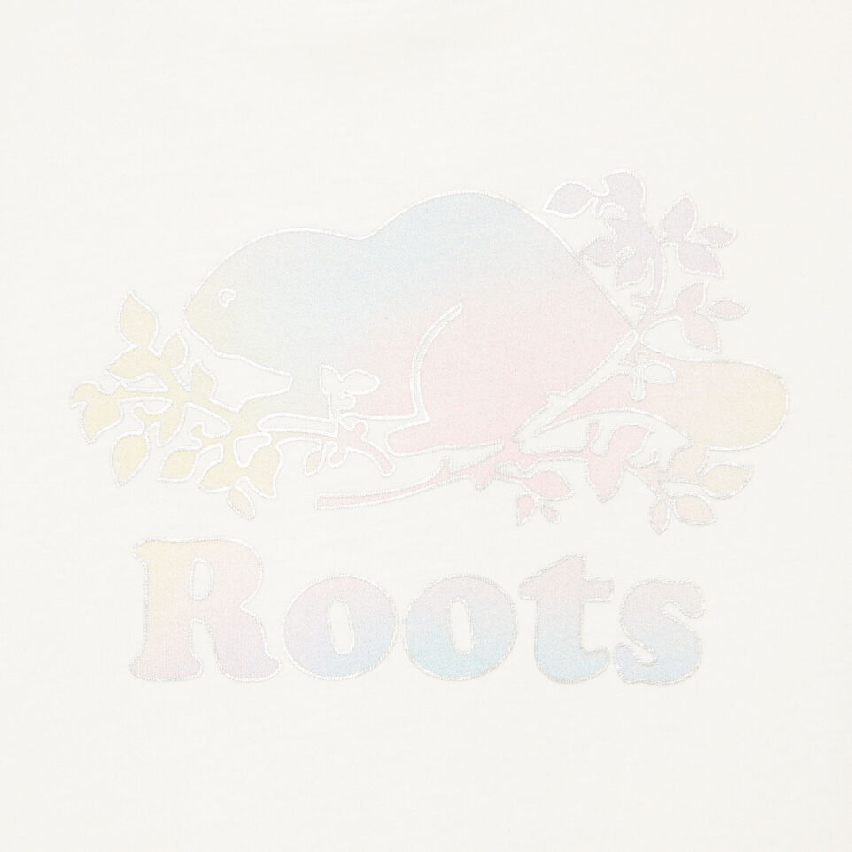 Roots-Kids Our Favourite New Arrivals-Girls Moonbeam T-shirt-Ivory-D