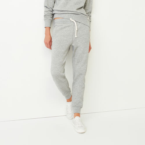 Roots-Women Bottoms-80s Sweatpant-Grey Pepper Mix-A