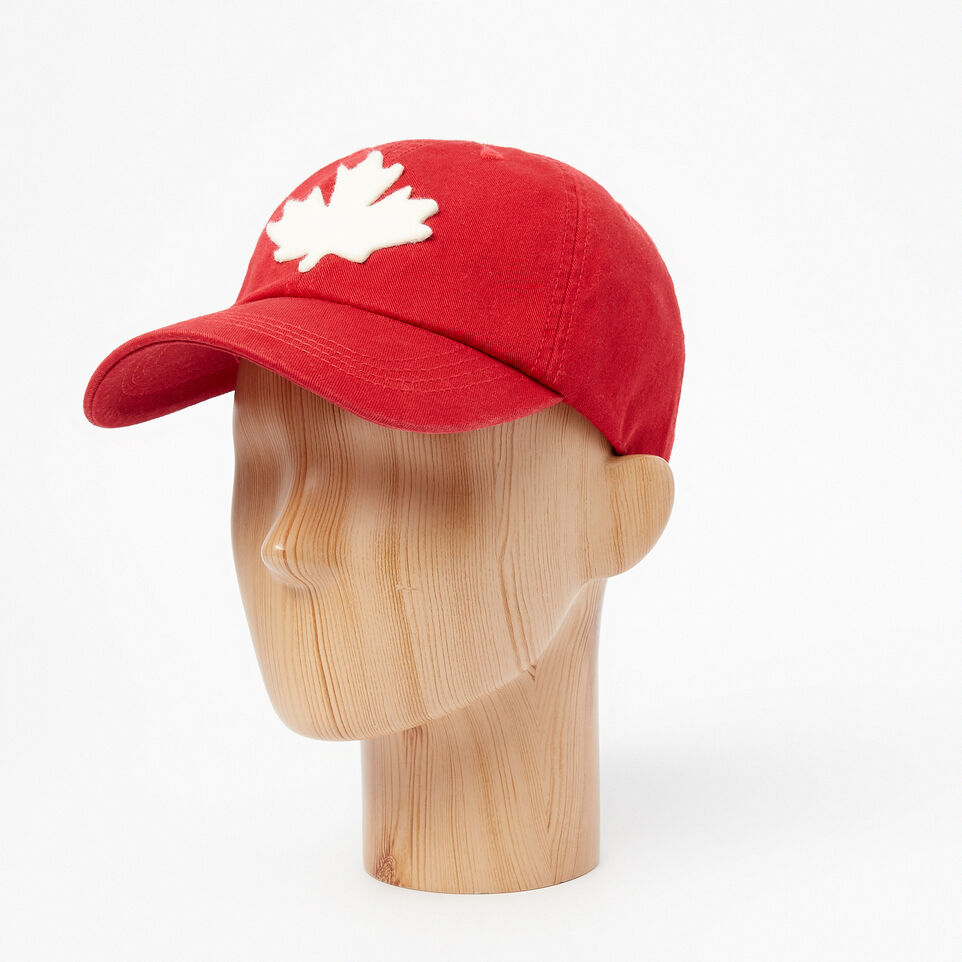 Roots-undefined-Canada Leaf Baseball Cap-undefined-B