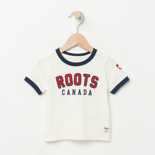 Roots-Kids Baby-Baby Sutton Ringer T-shirt-Pristine White-A