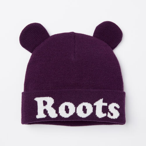 Roots-Kids Accessories-Toddler Cooper Glow Toque-Purple Pennant-A