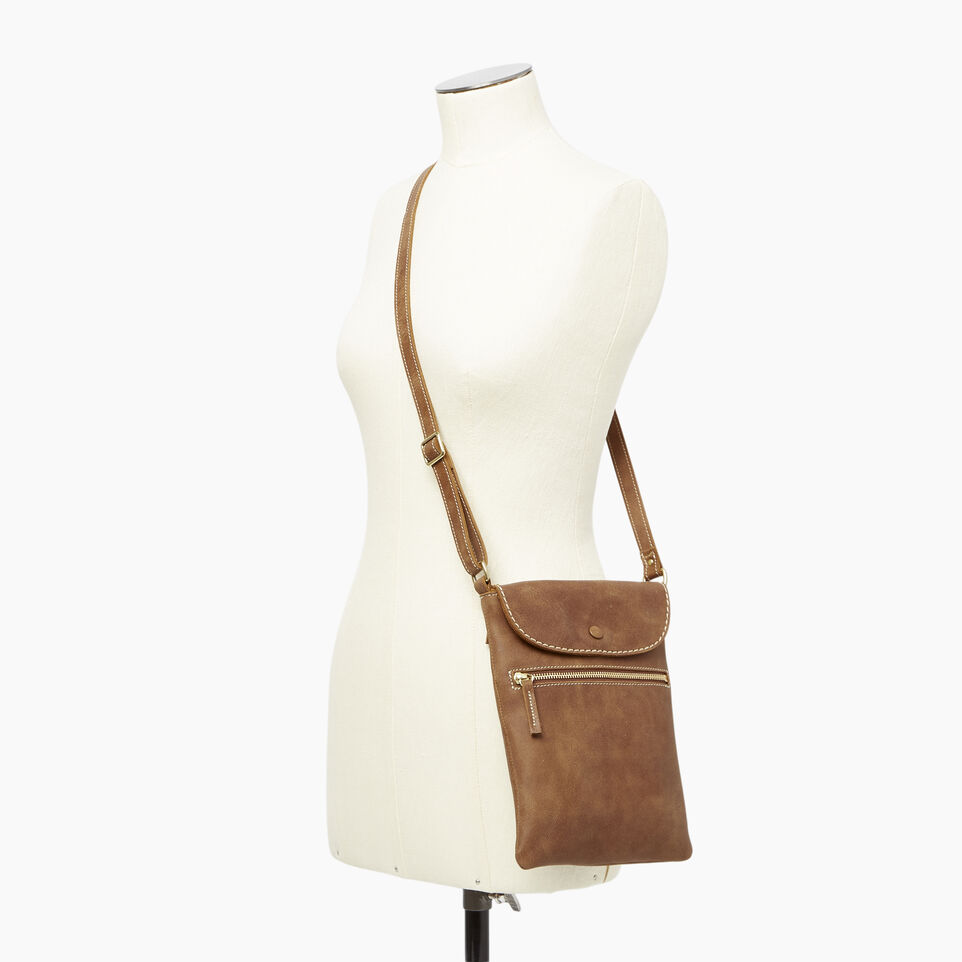 Roots-Leather  Handcrafted By Us Our Favourite New Arrivals-Riverdale Flat-Natural-B
