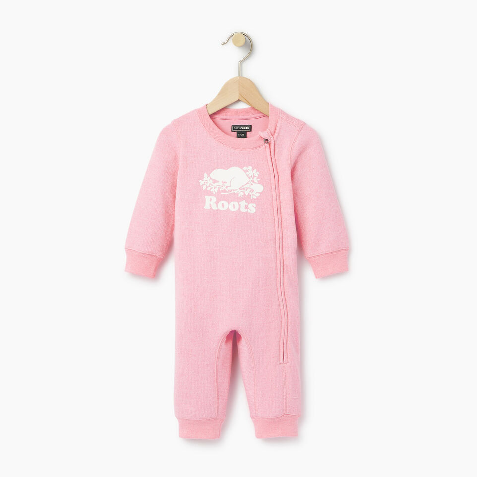 Roots-undefined-Baby Original Cooper Beaver Romper-undefined-A