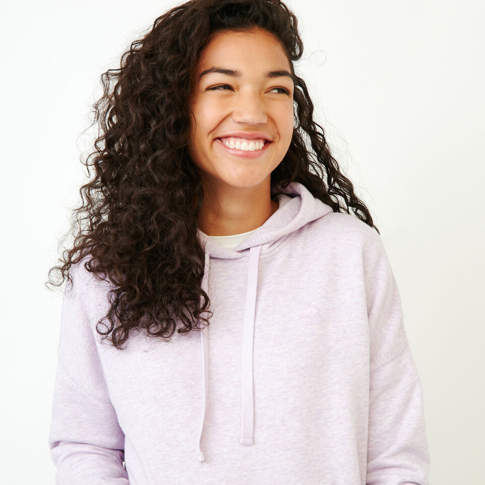 Roots-Women New Arrivals-Junction Hoody-Thistle Mix-D