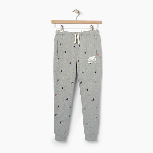 Roots-Kids Boys-Boys Skier AOP Sweatpant-Grey Mix-A