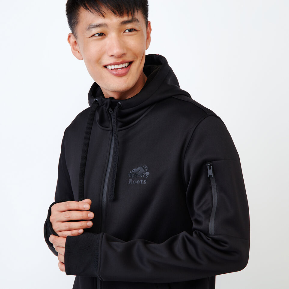 Roots-undefined-Logan Bonded Zip Hoody-undefined-E