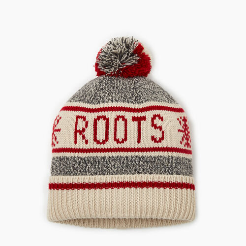 Roots-Kids Accessories-Kids Cabin Toque-Grey Oat Mix-A