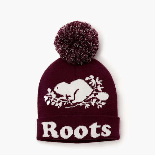 Roots-Clearance Kids-Kids Cooper Glow Toque-Pickled Beet-A