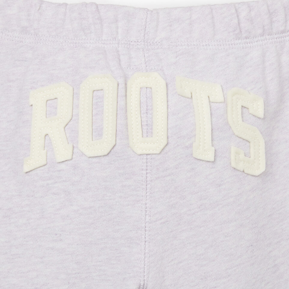 Roots-Kids Bottoms-Toddler Easy Ankle Sweatpant-Wisteria Mix-F