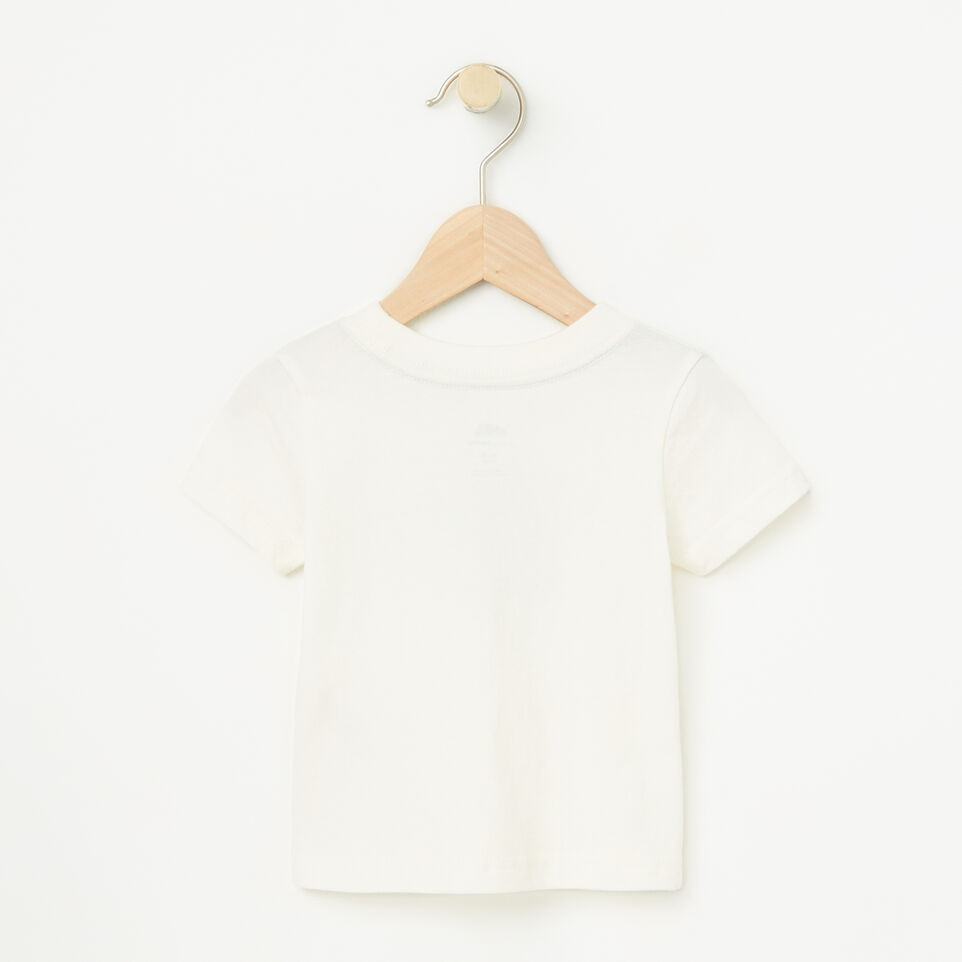 Roots-undefined-Baby Cooper Short Sleeve T-shirt-undefined-B