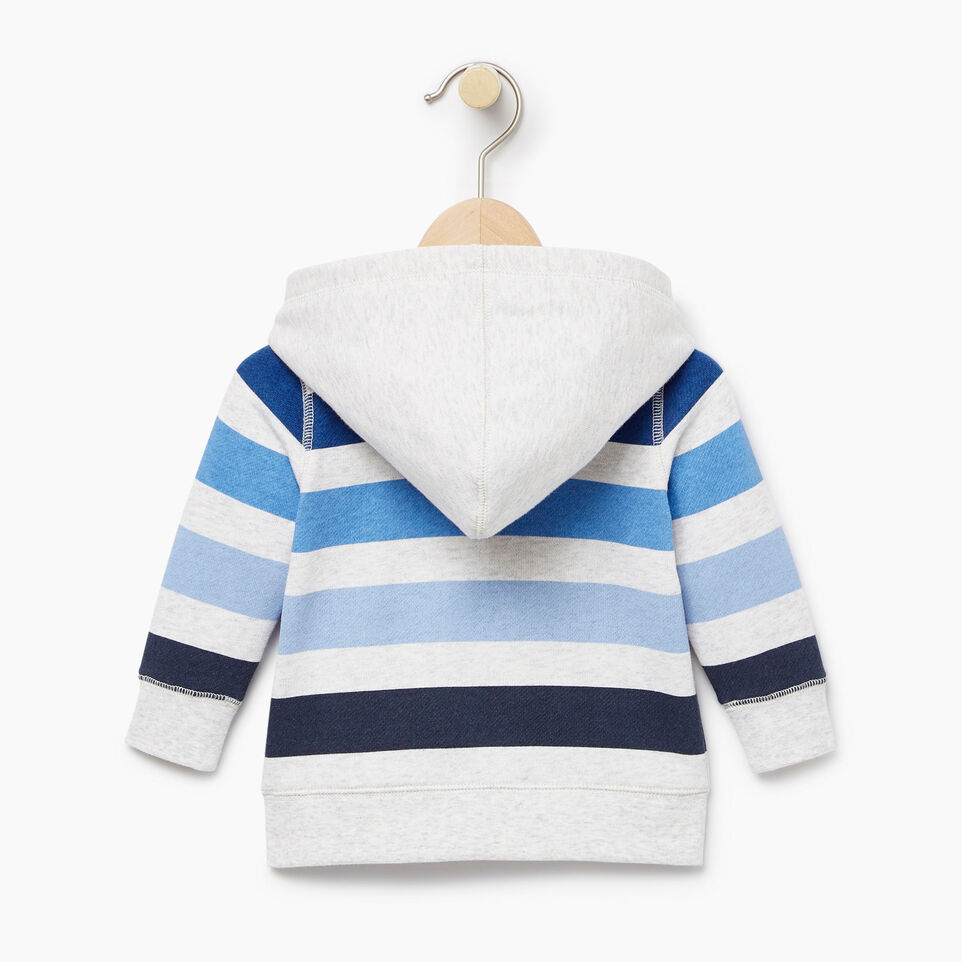 Roots-Kids Our Favourite New Arrivals-Baby Ombre Stripe Full Zip Hoody-White Mix-B