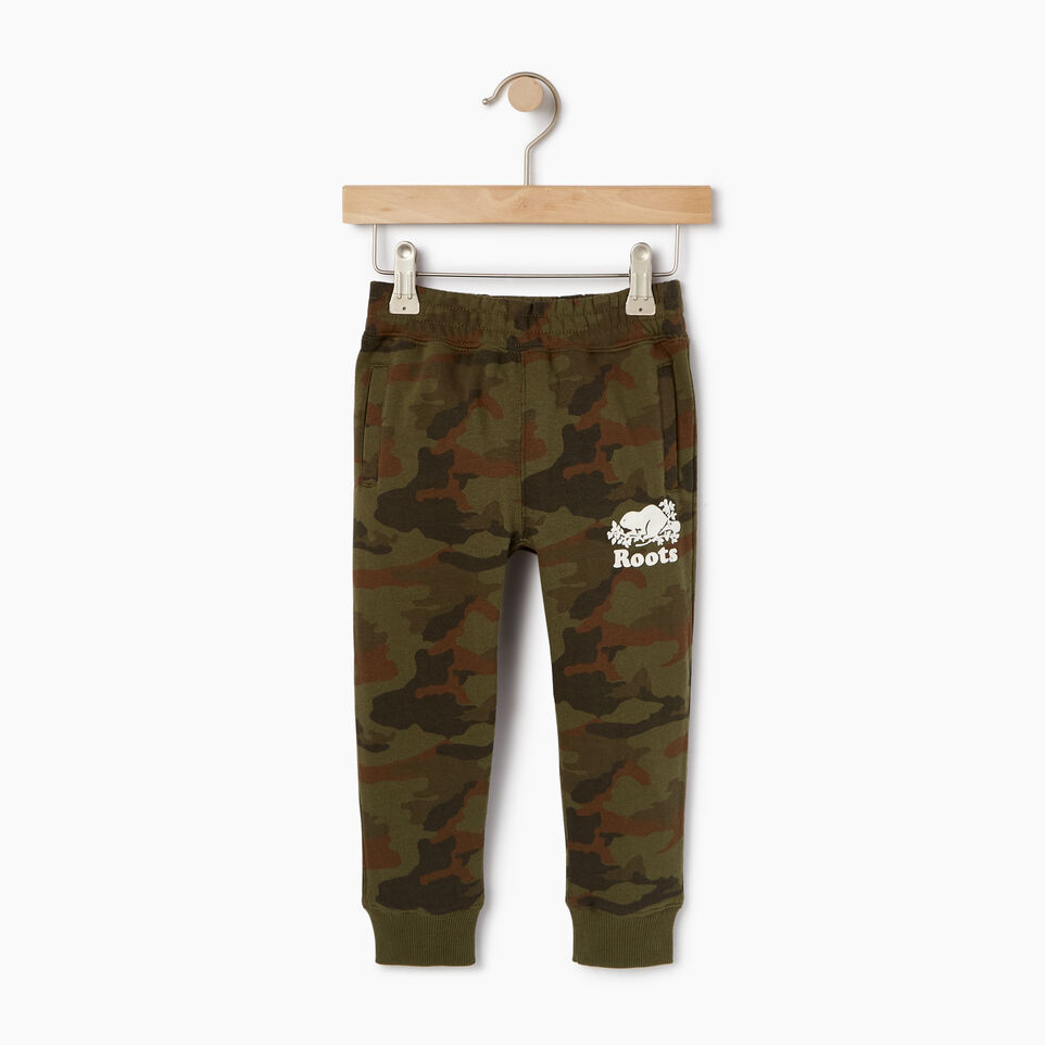 Roots-Kids New Arrivals-Toddler Camo Sweatpant-Winter Moss Green-A