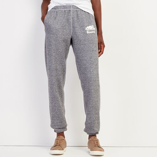 Roots-Women Sweatpants-Roots Salt and Pepper Original Sweatpant - Tall-Salt & Pepper-A