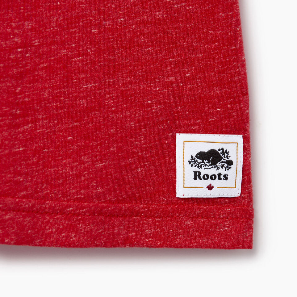 Roots-Kids Our Favourite New Arrivals-Toddler Bedford T-shirt-Sage Red Mix-C