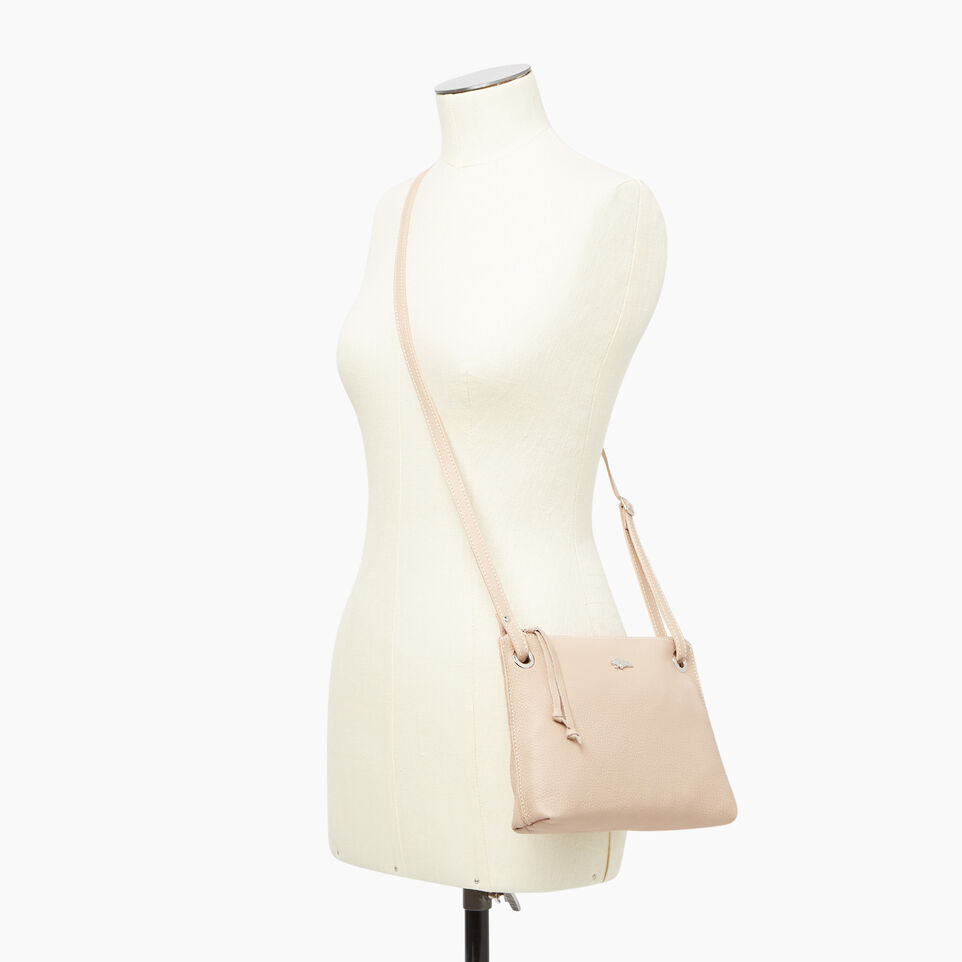 Roots-Leather  Handcrafted By Us Our Favourite New Arrivals-Edie Bag-Pink Mist-B