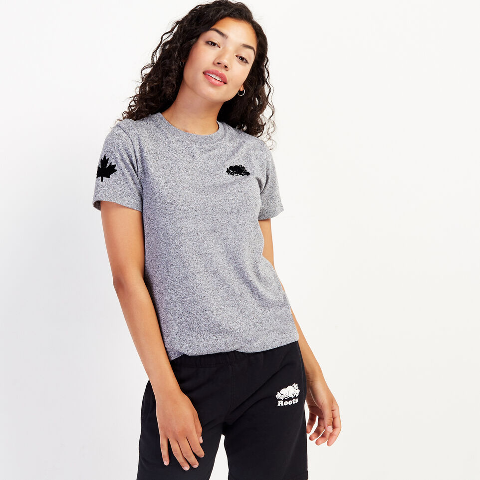 Roots-undefined-Womens Remix T-shirt-undefined-A