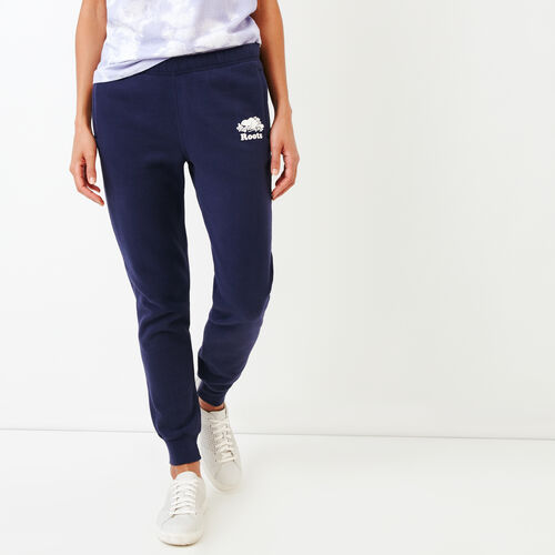 Roots-Women Slim Sweatpants-United Sweatpant-Eclipse-A