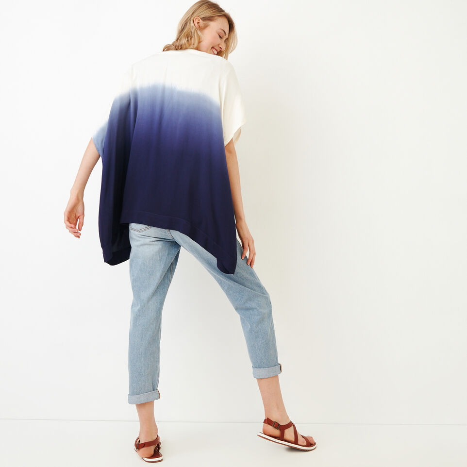 Roots-Women Our Favourite New Arrivals-Tessa Dip Dyed Kimono-Ombre Blue-D