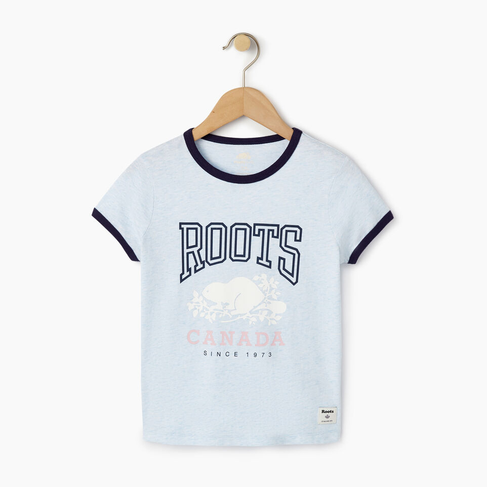 Roots-undefined-Girls Roots Classic Ringer T-shirt-undefined-A