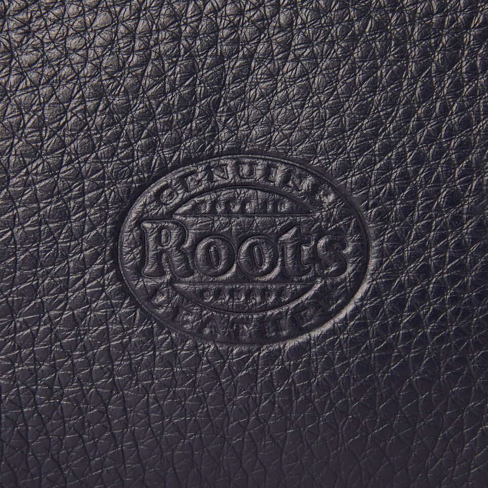Roots-Leather Our Favourite New Arrivals-Medium Zip Pouch-Ultramarine-E