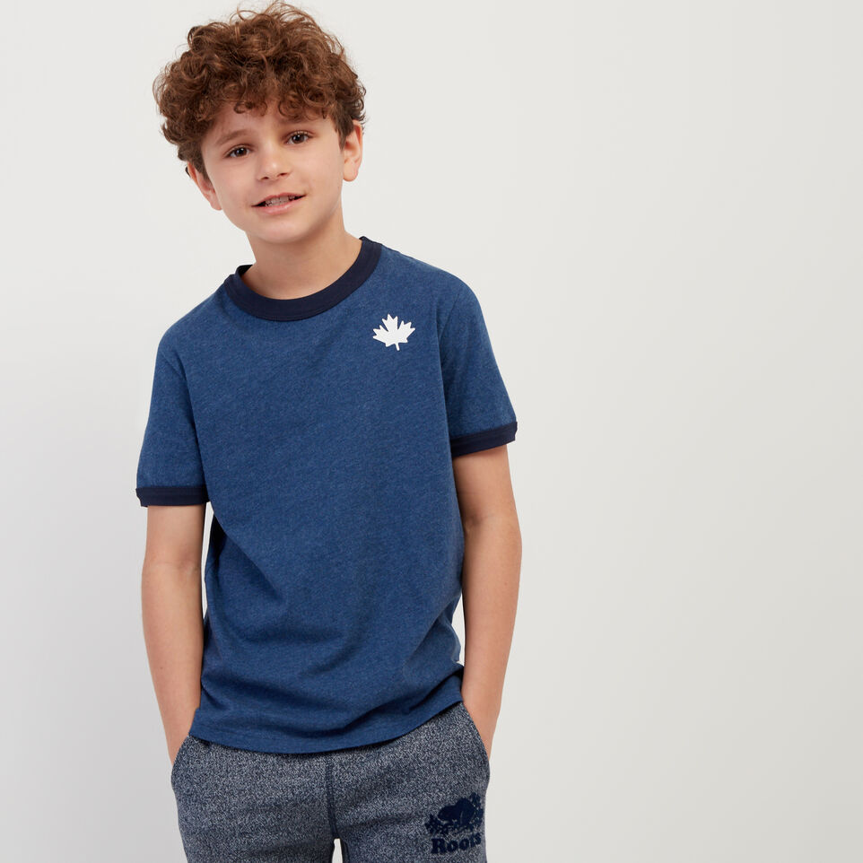 Roots-undefined-Boys Canada Ringer T-shirt-undefined-A