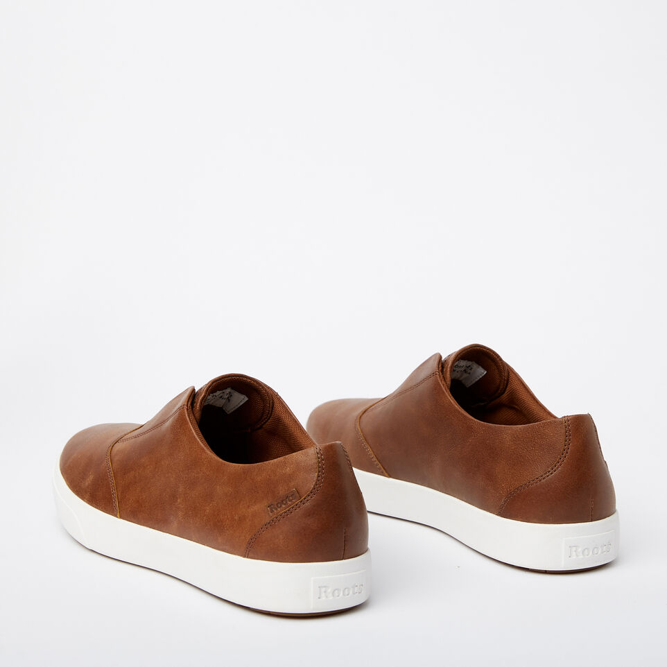 Roots-Sale Footwear-Mens Valley Slip On-Natural-C