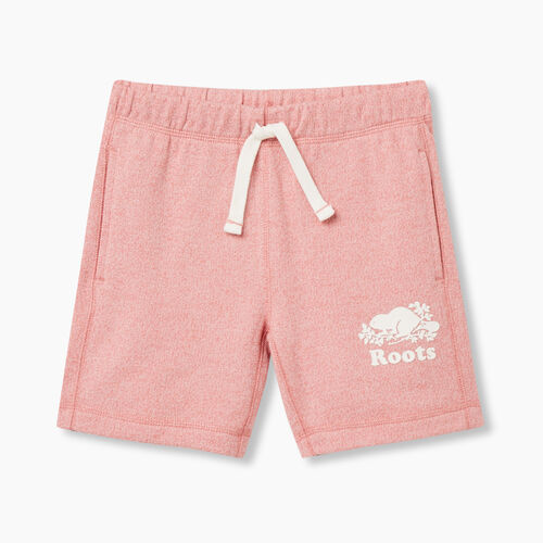 Roots-Sweats Sweatsuit Sets-Girls Original Roots Short-Sunset Apricot Ppr-A