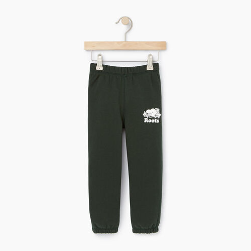 Roots-Clearance Kids-Toddler Original Sweatpant-Park Green-A