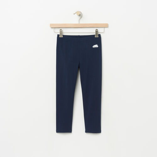 Roots-Sale Kids-Girls Capri Legging-Cascade Blue-A