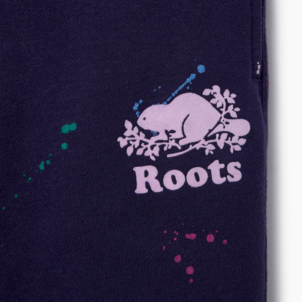 Roots-Kids Our Favourite New Arrivals-Girls Splatter Sweatpant-Eclipse-D